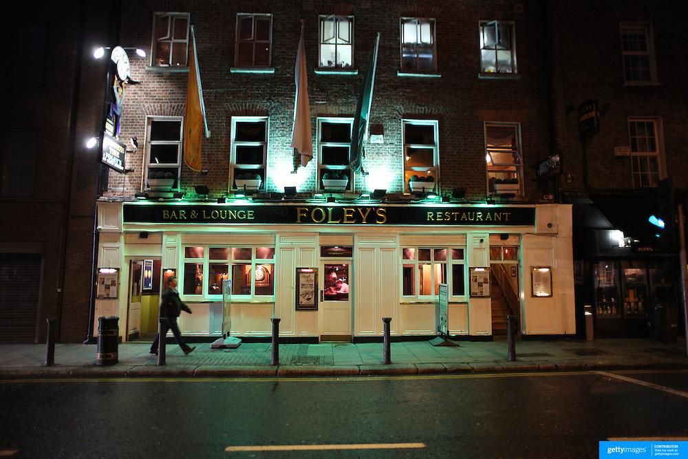 Foley's bar and lounge pub, Dublin, Ireland. Photo Tim Clayton