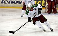 Ishockey<br /> GET-Ligaen<br /> 18.09.07<br /> Jordal Amfi<br /> Vålerenga VIF - Frisk Asker Tigers<br /> Christen Abbott<br /> Foto - Kasper Wikestad