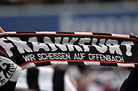 Fans, Schals Frankfurt<br /> Frankfurt, 06.05.2017, Fussball Bundesliga, Eintracht Frankfurt - VfL Wolfsburg 0:2<br /> Norway only
