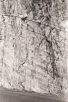 Linjer i fjellet.<br /> Foto: Svein Ove Ekornesvåg