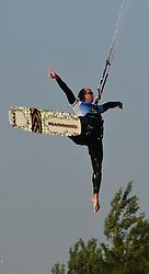 07.05.2011, Strandbad Podersdorf am See, Burgenland, AUT, Surfworldcup, im Bild Toby Bräuer (Kiteboarding.eu) // during surfworldcup at podersdorf, AUT, burgendland, lido podersdorf, 05-07-2011,  EXPA Pictures © 2011, PhotoCredit: EXPA/ M. Gruber