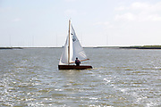 Lady Florence boat trip cruise River Ore, Orford Ness, Suffolk, England small yacht sailing boat avocet canoe