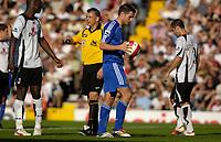Photo: Daniel Hambury.<br />Fulham v Chelsea. The Barclays Premiership. 23/09/2006.<br />Chelsea's Frank Lampard prepares to take his penalty.