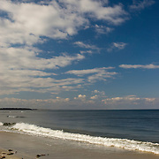 Crane Beach in Ipswich Massachusetts a barrier beach with great sand dunes and an open exposure to the North Atlantic.