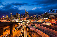 Alaskan Way Viaduct-Tunnel Construction, Seattle