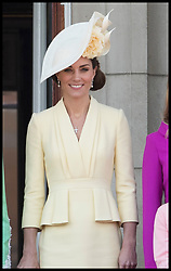 June 8, 2019 - London, London, United Kingdom - Image licensed to i-Images Picture Agency. 08/06/2019. London, United Kingdom. Duchess of Cambridge at  Trooping the Colour in London. (Credit Image: © Stephen Lock/i-Images via ZUMA Press)
