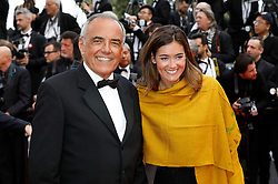May 15, 2019 - Cannes, Alpes-Maritimes, Frankreich - Alberto Barbera and guest attending the 'Les Misérables' premiere during the 72nd Cannes Film Festival at the Palais des Festivals on May 15, 2019 in Cannes, France (Credit Image: © Future-Image via ZUMA Press)