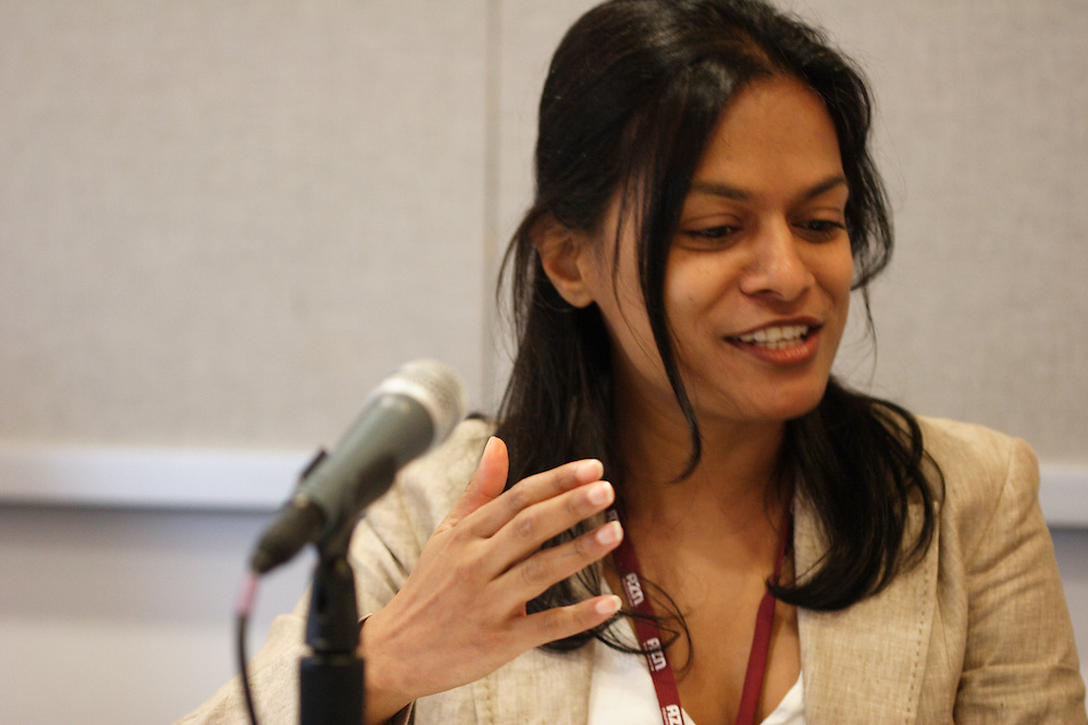 """""""Beyond Stereotypes: South Asian Immigrant Children in America"""": Annetta Seecharran, executive director of South Asian Youth Action."""