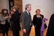 MARGARET HODGE; CHRIS STEVENS; CURATOR OF THE EXHIBITION,  Henry Moore, Tate Britain. London. 22 February 2010