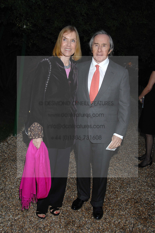 SIR JACKIE & LADY STEWART at the annual Cartier Chelsea Flower Show dinner held at the Chelsea Physic Garden on 21st May 2007.<br /><br />NON EXCLUSIVE - WORLD RIGHTS