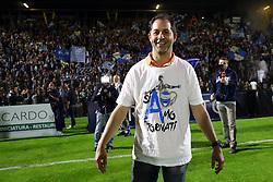 SIMONE COLOMBARINI<br /> FESTEGGIAMENTI ALLO STADIO<br /> SPAL PROMOSSA IN SERIE A