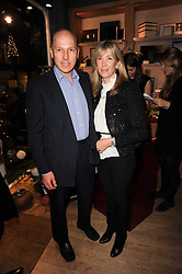 The HON.PEREGRINE and CAROLINE ARMSTRONG-JONES at a party to celebrate 25 years of the David Linley store , 60 Pimlico Road, London on 16th November 2010.