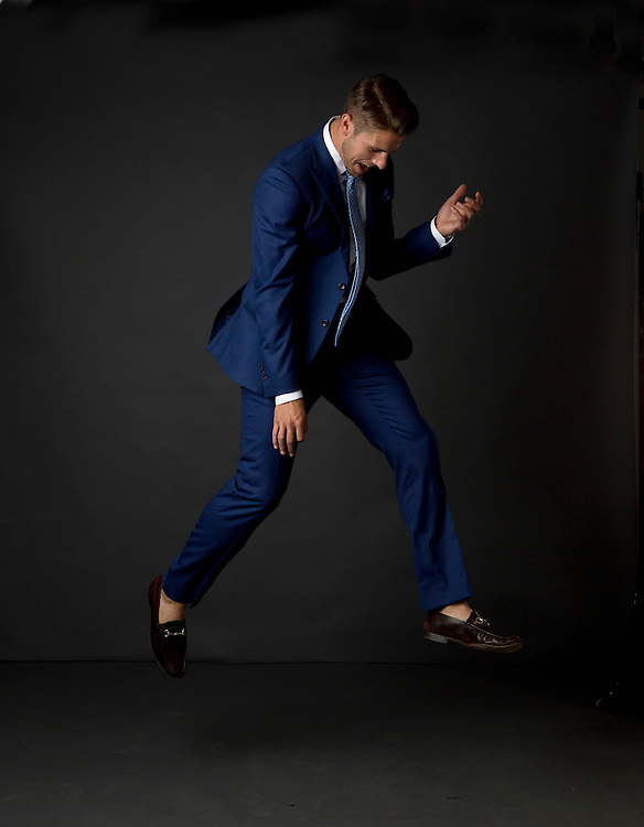 Ryan Rodgers of 1812 Society suitmakers. (Will Shilling/Capital Style)