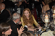 TERRY GILLIAM; LILY COLE, Luminous -Celebrating British Film and British Film Talent,  BFI gala dinner & auction. Guildhall. City of London. 6 October 2015.