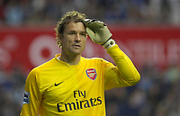 Photo: Daniel Hambury.<br />Reading v Arsenal. The Barclays Premiership. 22/10/2006.<br />Arsenal's Jens Lehman.