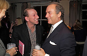 William Sieghart and Charles Finch, Party to celebrate the publication of 'Rita's Culinary Trickery' by Rita Konig. Morton's. 18 November 2004.  ONE TIME USE ONLY - DO NOT ARCHIVE  © Copyright Photograph by Dafydd Jones 66 Stockwell Park Rd. London SW9 0DA Tel 020 7733 0108 www.dafjones.com