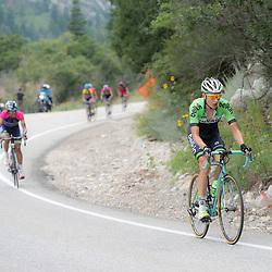 09-08-2014: Wielrennen: Tour of Utah: Verenigde Staten<br /> Stage 6 of the Larry H. Miller Tour of Utah, Salt Lake City to Snowbird, Utah<br /> Wilco Kelderman deed goede zaken in het klassement en staat na deze etappe op plaats vijf