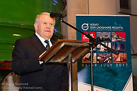 (l to r) David Lovegrove (President, Irish Sailing Association) addressing the official launch of Volvo Dún Laoghaire Regatta 2017 in the National Maritime Museum of Ireland on Wednesday evening. The Regatta will be among the biggest mass-participatory sporting event in Ireland this year (eclipsed for numbers only by the city marathons).