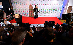 Wilnelia Merced at the National Television Awards 2018 held at the O2 Arena, London.