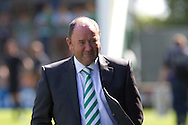 Manager of Yeovil Town Gary Johnson during the Skybet championship match, Yeovil Town v Reading at Huish Park in Yeovil on Saturday 31st August 2013. <br /> Picture by Sophie Elbourn, Andrew Orchard sports photography,