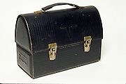 old black lunch box
