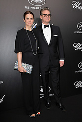 Colin Firth, Livia Firth attending the Chopard Trophy at Agora during 72nd Cannes Film Festival in Cannes, France on May 20, 2019. Photo by Julien Reynaud/APS-Medias/ABACAPRESS.COM