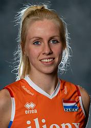 14-05-2019 NED: Photoshoot national volleyball team Women, Arnhem<br /> Anniek Siebring of Netherlands