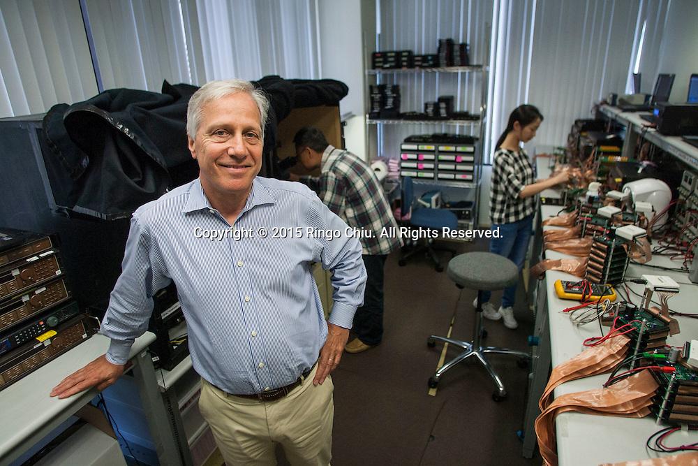 Alex Lidow, co-founder and CEO of Efficient Power Conversions (EPC).<br /> (Photo by Ringo Chiu/PHOTOFORMULA.com)