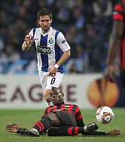 20120216: PORTO, PORTUGAL – UEFA Europa League 2011/2012 - 1/16 Final - 1st Leg: FC Porto vs Man. City.<br /> In photo: JOAO MOUTINHO AND BOLOTELLI.<br /> PHOTO: PEDRO PEREIRA/CITYFILES