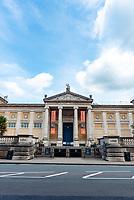 Ashmolean Museum oxford during the lockdown 2020