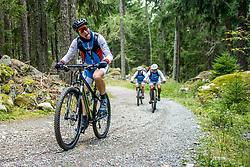 13-09-2017 FRA: BvdGF Tour du Mont Blanc day 4, Trient<br /> Van Chamonix naar Trient. <br /> Javier