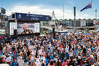 13/03/21 - Auckland (NZL)36th America's Cup presented by Prada36th America's Cup Match - DocksideRace Village, Rock The Dock with Rod Stewart