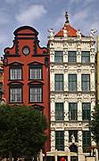 Gdańsk; 2008-06-22. Stare Miasto w Gdańsku. Złota kmienica.