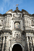 Church of the Society of Jesus, La Compania in Quito, Ecuador, South America