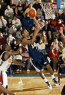 Newburgh Free Academy's Justin Rutty (12) takes a shot during a Class AA state tournament game against Mount Vernon on March 10, 2006, at Pace University in Pleasantville.