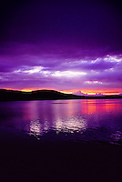 Sunset, Lake Willoughby, Vermont, USA