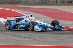 March 23, 2019 - Austin, Texas, U.S - Indy car in action during the practice round at the Circuit of the Americas racetrack in Austin,Texas. (Credit Image: © Dan Wozniak/ZUMA Wire)