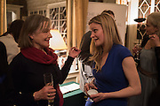 ALEX CAMPBELL; HERMIONE EYRE, The Walter Scott Prize for Historical Fiction 2015 - The Duke of Buccleuch hosts party to for the shortlist announcement. <br /> The winner is announced at the Borders Book Festival in Scotland in June.John Murray's Historic Rooms, 50 Albemarle Street, London, 24 March 2015.