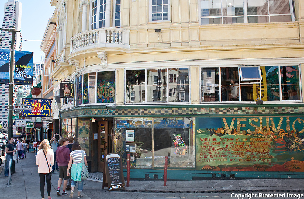 Cafe Vesuvio in North Beach San Francisco