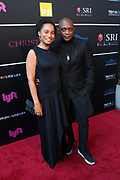 April 8, 2019-New York, New York-United States: (L-R) Curator Rujecko Hockley and Visual Artist Hank Willis Thomas, For Freedoms (Honoree) attends the Bronx Museum Gala & Art Auction 2019 held at Capitale on April 8, 2019 in New York City. The Bronx Museum of the Arts is a contemporary art museum that connects diverse audiences to the urban experience through its permanent collection, special exhibitions, and education programs that strive to reflect the borough's dynamic communities. (Photo by Terrence Jennings/terrencejennings.com)
