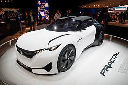 Peugeot Fractal electric concept car at Paris Motor Show 2016