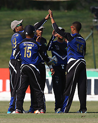 Pietermaritzburg, SOUTH AFRICA 4 September 2016 - KwaZulu-Natal Inland players during the African Cup T20 game between KwaZulu-Natal Inland and Namibia at the City Oval, Pietermaritzburg, South Africa. Photo by: Steve Haag/ Real Time Images