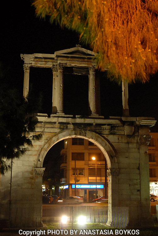 Look for ancient monuments!!! <br /> <br /> Hadrian's Gate.