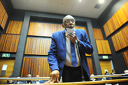South Africa - Johannesburg - 1 October 2020 - Former ANC MP Vincent Smith has been granted R30 000 bail at the Palm Ridge Magistrate's Court.<br /> Smith appeared in court on Thursday morning after he handed himself over at the Alberton Police Station. The former chairperson of the National Assembly's portfolio committee on correctional services is facing corruption charges in relation to the benefits he received from controversial company African Global Operations, formerly known as Bosasa. Picture: Nokuthula Mbatha/African News Agency(ANA)