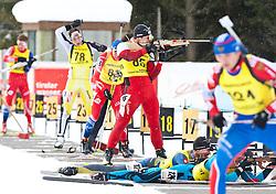 11.12.2010, Biathlonzentrum, Obertilliach, AUT, Biathlon Austriacup, Sprint Men, im Bild features m Schiessplatz. EXPA Pictures © 2010, PhotoCredit: EXPA/ J. Groder