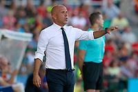 Italy's coach Luigi Di Biagio during international sub 21 friendly match. September 1,2017.(ALTERPHOTOS/Acero)