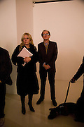 KIERA PARKS AND BILL NIGHY, Tim Noble and Sue Webster: Sacrificial Heart. Gagosian . Davies St. London and afterwards Claridges. 11 December 2007. . -DO NOT ARCHIVE-© Copyright Photograph by Dafydd Jones. 248 Clapham Rd. London SW9 0PZ. Tel 0207 820 0771. www.dafjones.com.