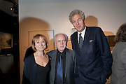 KAREN ATTENBOROUGH; MICHAEL ATTENBOROUGH; HENRY WYNDHAM,  Preview of  Lord and Lady Attenborough art works  at SothebyÕs. Donation from the evening to be made to RADA. New Bond St. London. 9 November 2009<br /> KAREN ATTENBOROUGH; MICHAEL ATTENBOROUGH; HENRY WYNDHAM,  Preview of  Lord and Lady Attenborough art works  at Sotheby's. Donation from the evening to be made to RADA. New Bond St. London. 9 November 2009