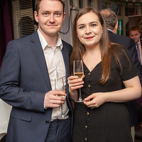 REPRO FREE<br /> Pictured at the opening of the 43rd Kinsale Gourmet Festival at the Blue Haven were Michael Delaney and Rebecca McDonald from Belfast.<br /> Picture. John Allen
