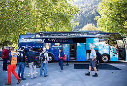 Sky team bus at Men Elite Individual Time trial a 52.5km race from Rattenberg to Innsbruck 582m at the 91st UCI Road World Championships 2018 / ITT / RWC / on September 26, 2018 in Innsbruck, Austria. Photo by Vid Ponikvar / Sportida
